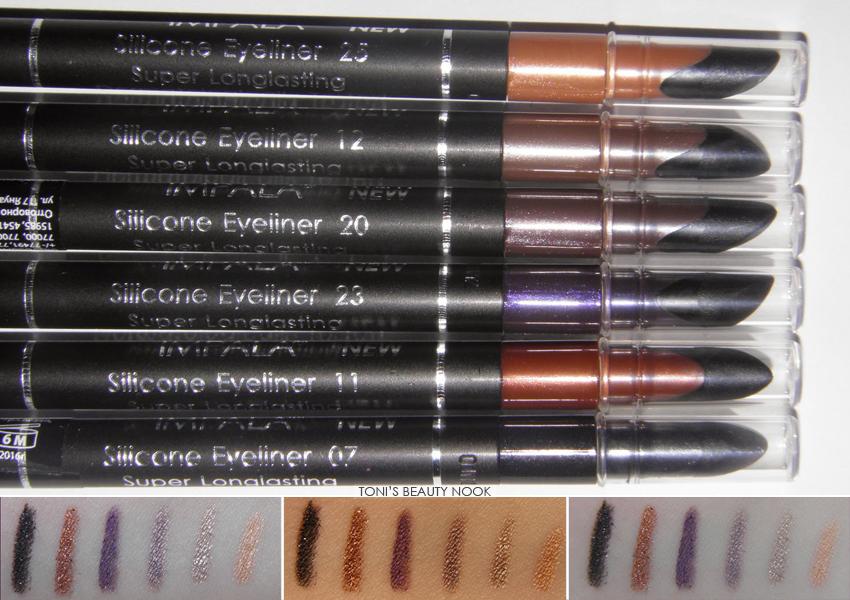 impala eyeliner eye pencil collection
