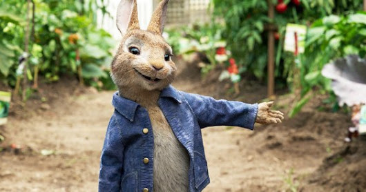 PETER RABBIT: GOING HIPPITY-HOP!