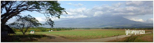 Volcan Kanlaon as viewed from Cainaman road going to Brgy. Balabag