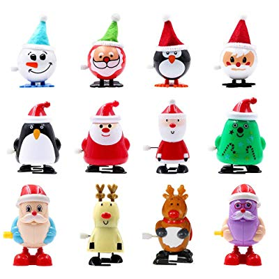 1599 free ship wind up assorted christmas toys 12 count - Free Christmas Toys