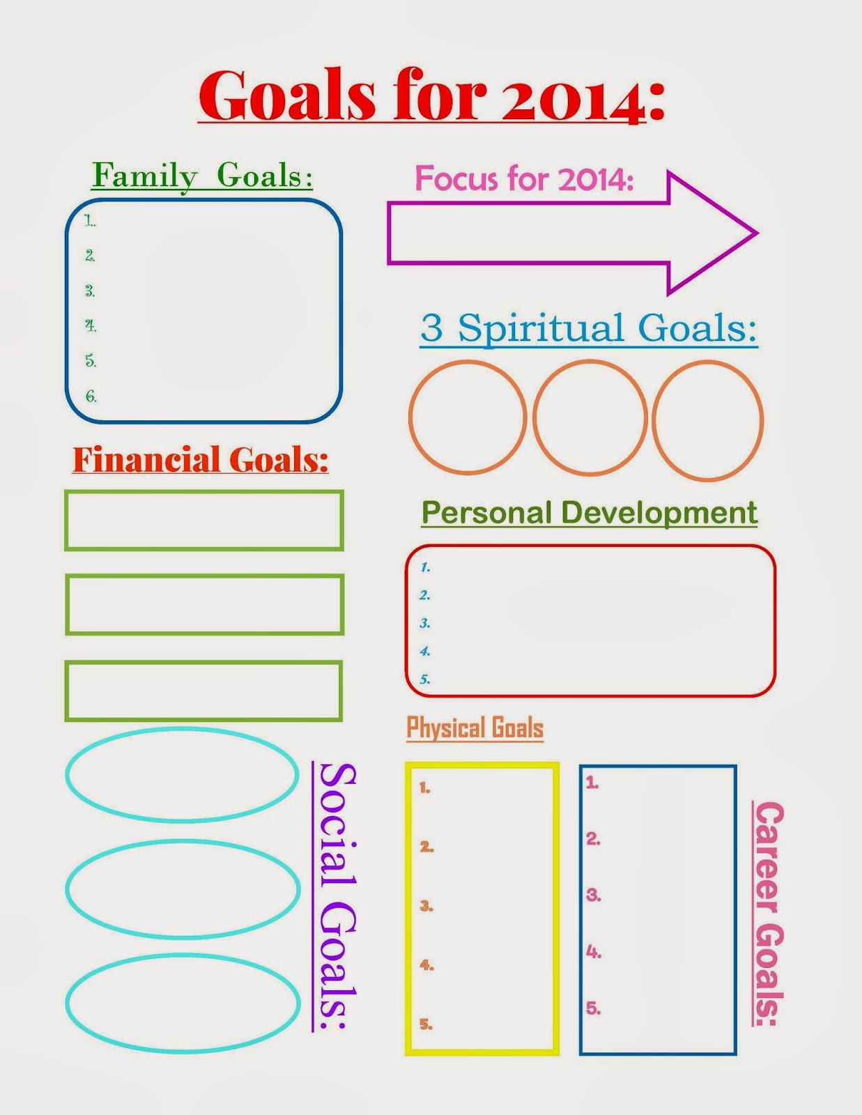 5 Benefits To Writing Down Your Goals A Free Printable