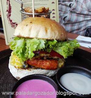 Capicua Sandwich croqueta de pollo