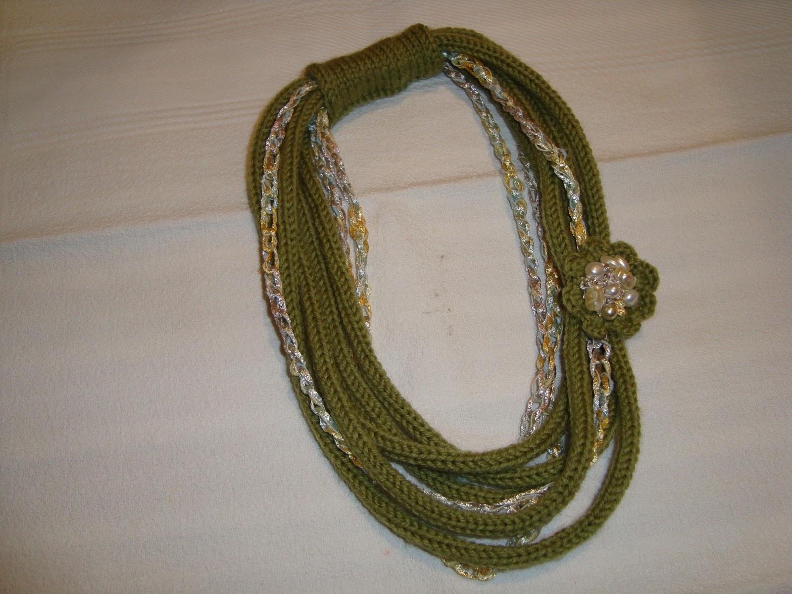 abbastanza Le creazioni Di Grazia: collane di lana OK45