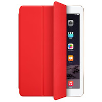 iPad air Smart Cover Poliuretano rossa