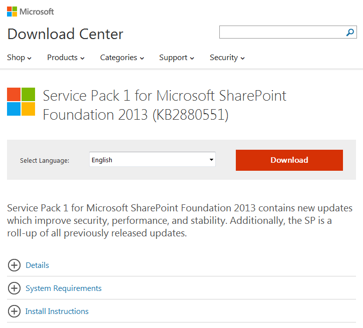 install sharepoint patch