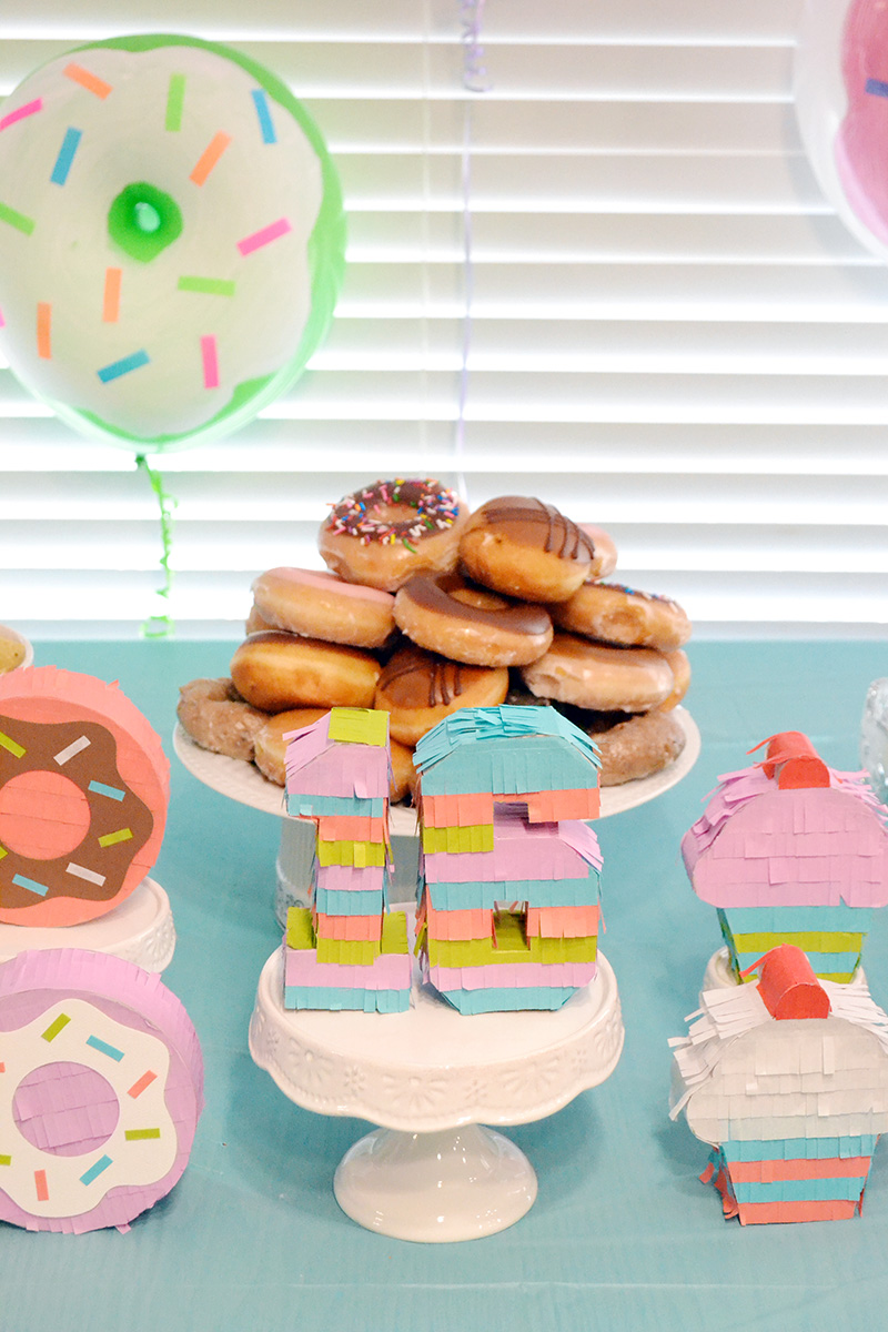 "Aly Dosdall ""sweet"" 16 Donut Party Decor"