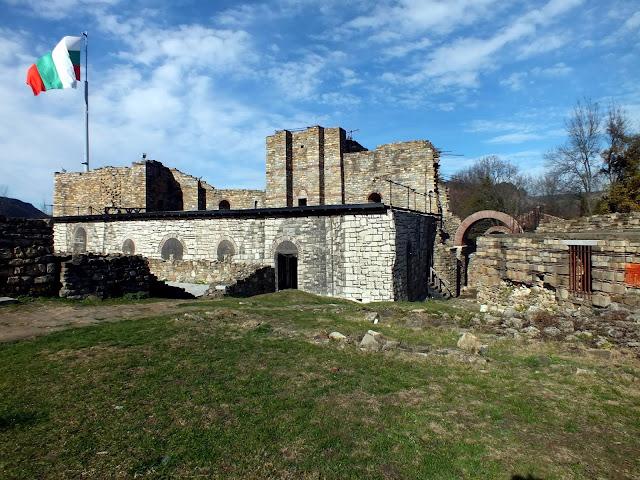 Palacio de la fortaleza de Veliko Tarnovo