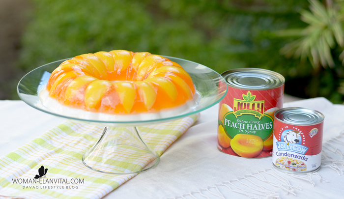 JOLLY JELLY PEACHES AND CREAM RECIPE