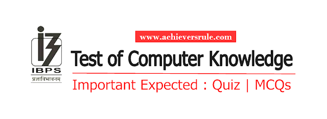 Computer Quiz,Expected Computer Questions for SBI PO Mains, IBPS PO 2017