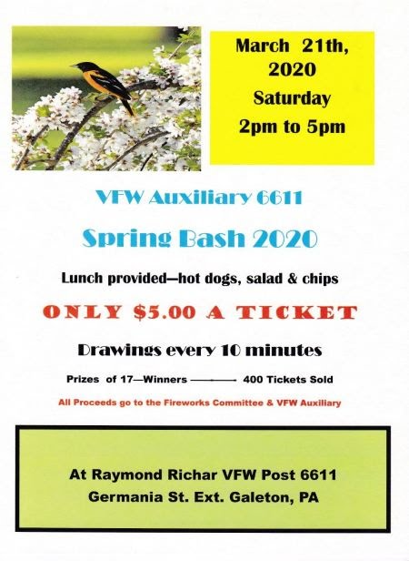 "5-16 Galeton ""Spring Bash 2020"""