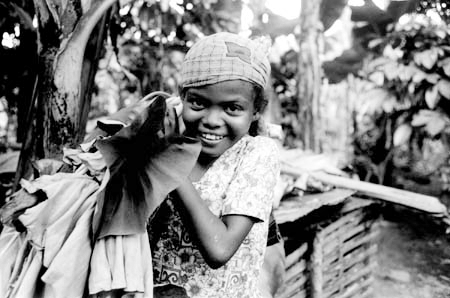Child working in Madagascar