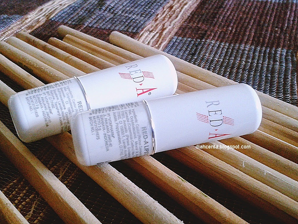 REVIEW Red A Lipstick 615 Dan 620
