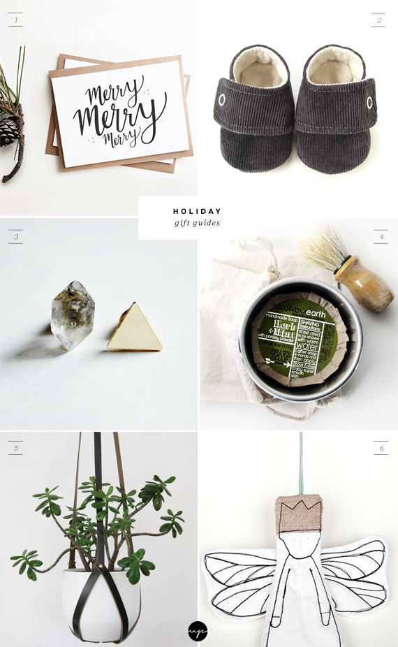 ETSY holiday gift guides | My Paradissi