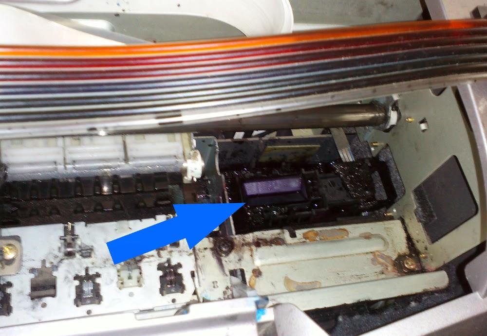 Парковочный узел принтера