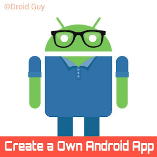 create a own android app in seconds