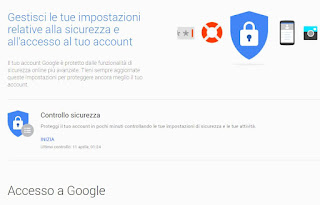 cambiare password email