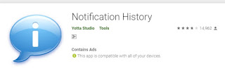 "Aplikasi bernama ""Notification History"""
