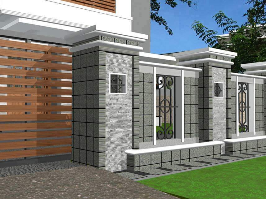 fence design minimalist home gallery 2016 - Home Gallery Design