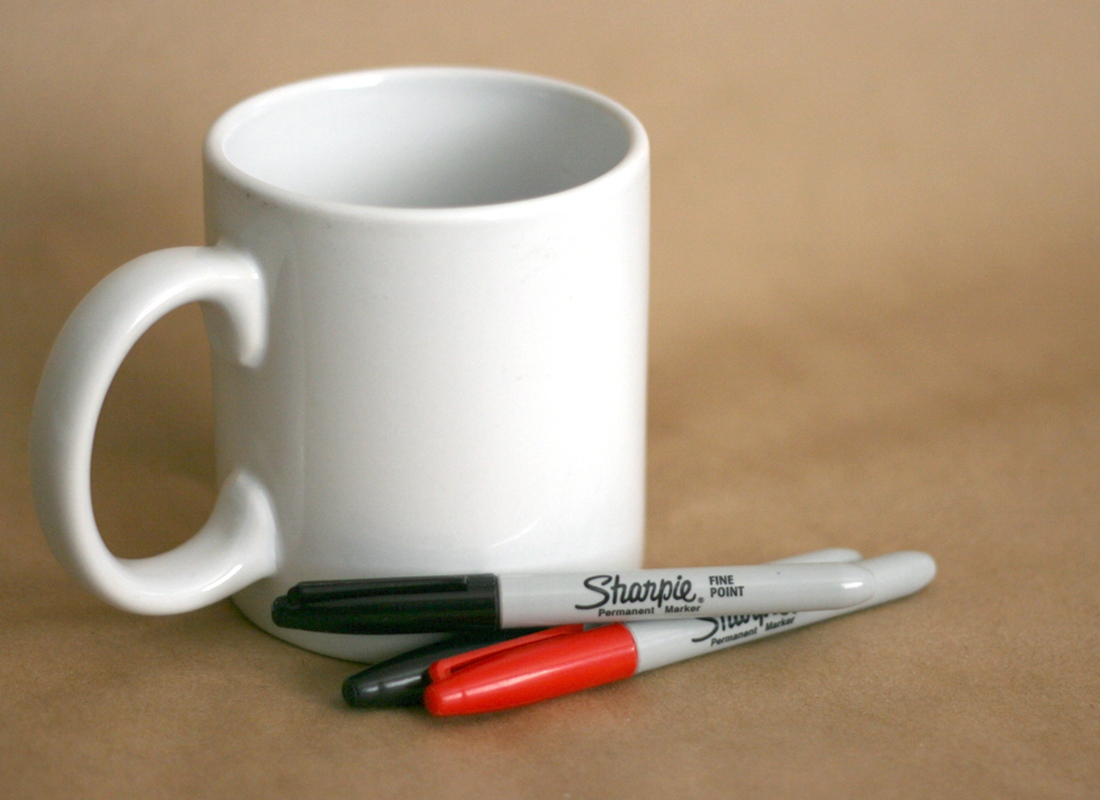 Diy Sharpie Mug Valentine Gift