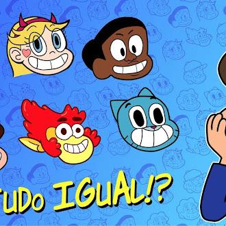 Por que os desenhos animados estão todos iguais?