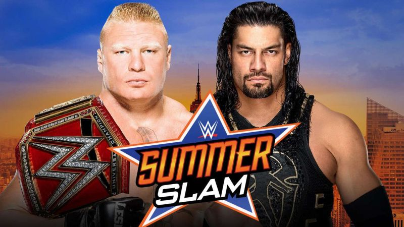 Brock Lesnar vs Roman Reigns WWE SummerSlam 2018. StrengthFighter.com