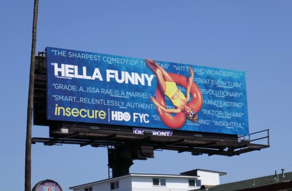 Insecure 2018 Emmy FYC billboard