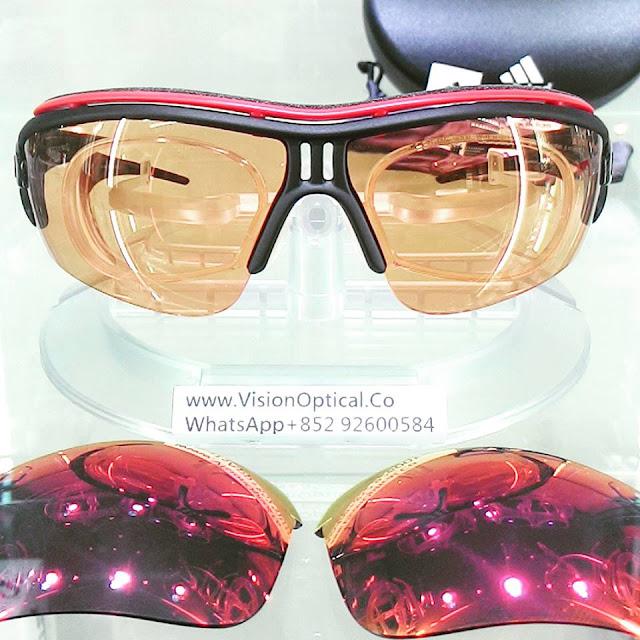 Adidas Evil eye 配近視太陽眼鏡
