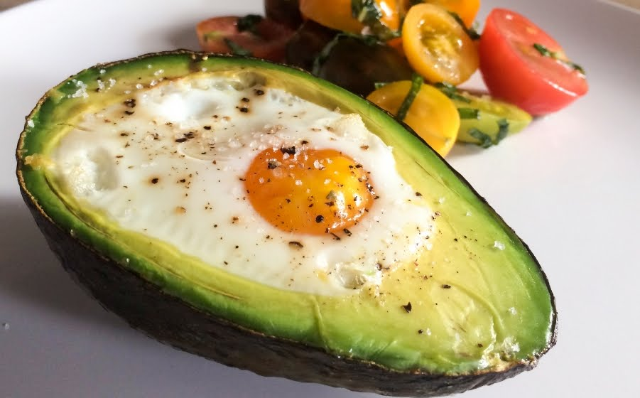 Baked Avocado Eggs