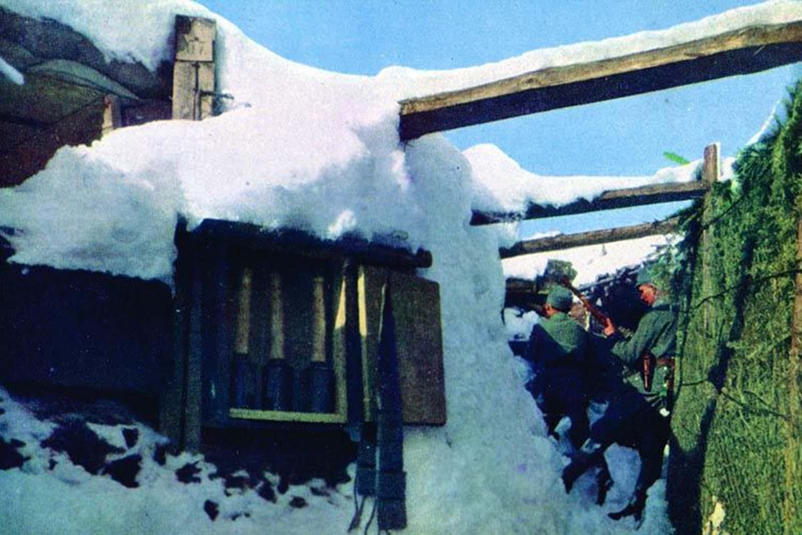 Winter in Alsace, 1916.