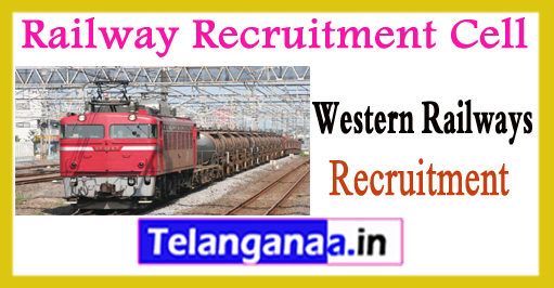RRC WR Railway Recruitment Cell Mumbai Western Railways CST Railway Recruitment 2017-18