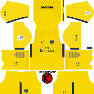 Dream League Soccer PSG Kits Away