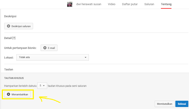 menambahkan supel media ke sarung tuba youtube-gambar 5