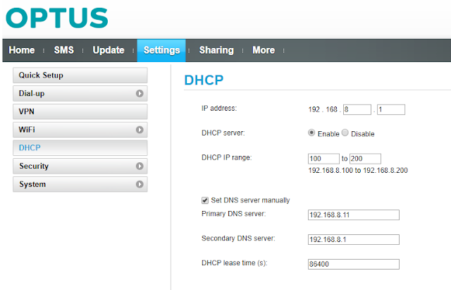 Huawei B525 4G router - Fix for missing DNS settin    - Yes Crowd