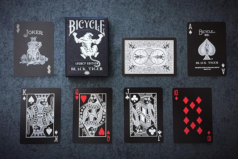 Black Legacy Box Playing Cards