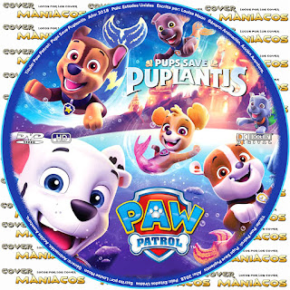 GALLETA PAW PATROL: PUPS SAVE PUPLANTIS - 2018