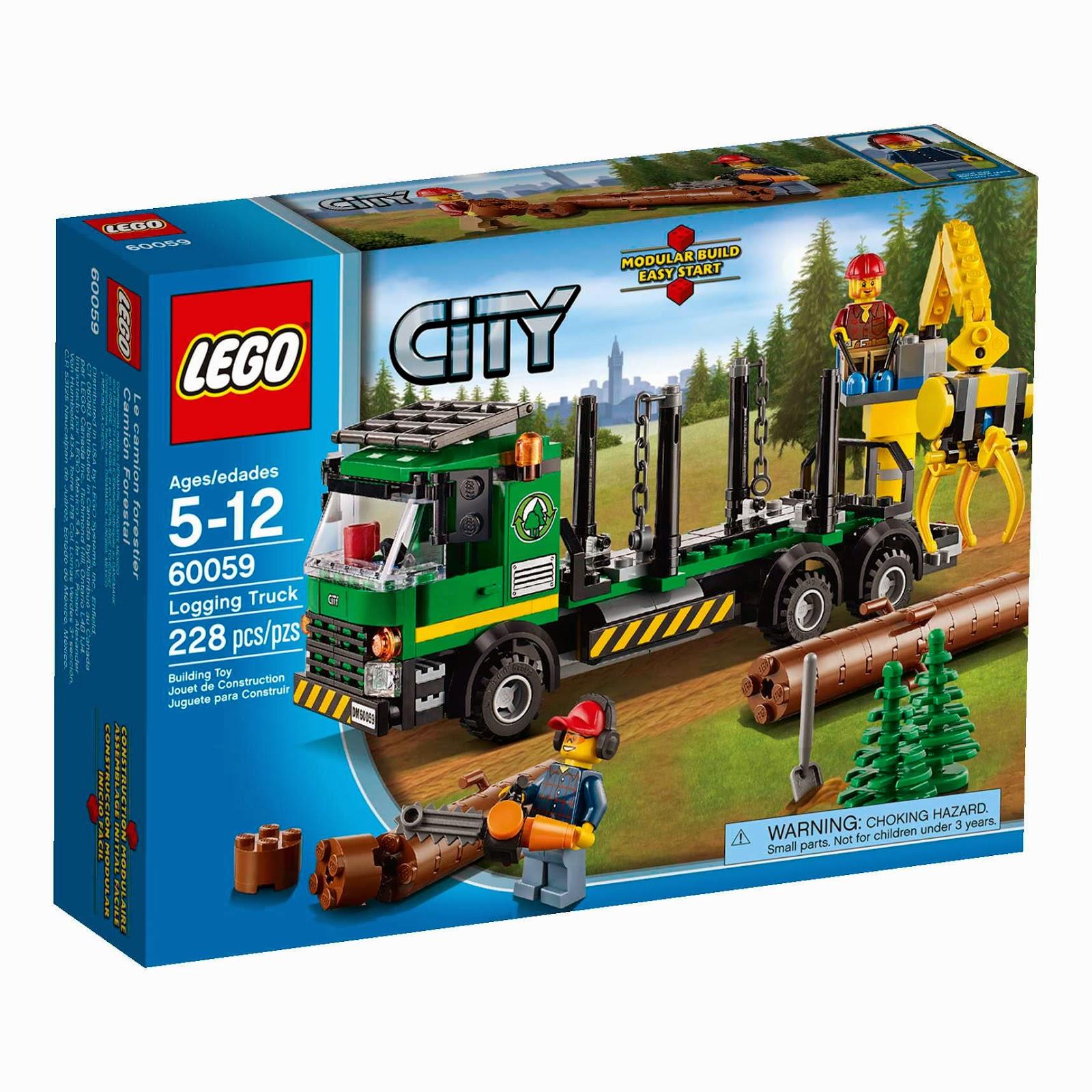 lego logging truck - photo #4