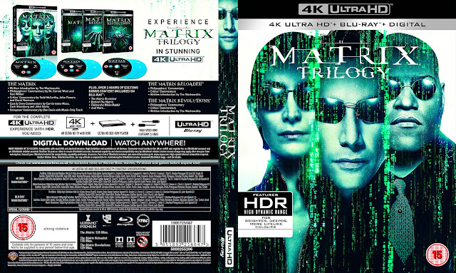 The Matrix Trilogy Bluray