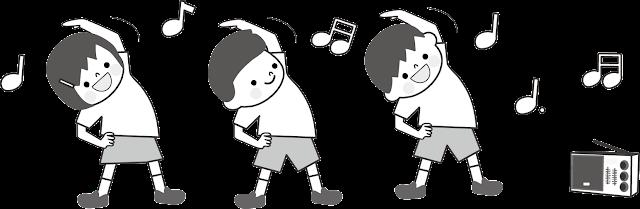 Echauffement en musique