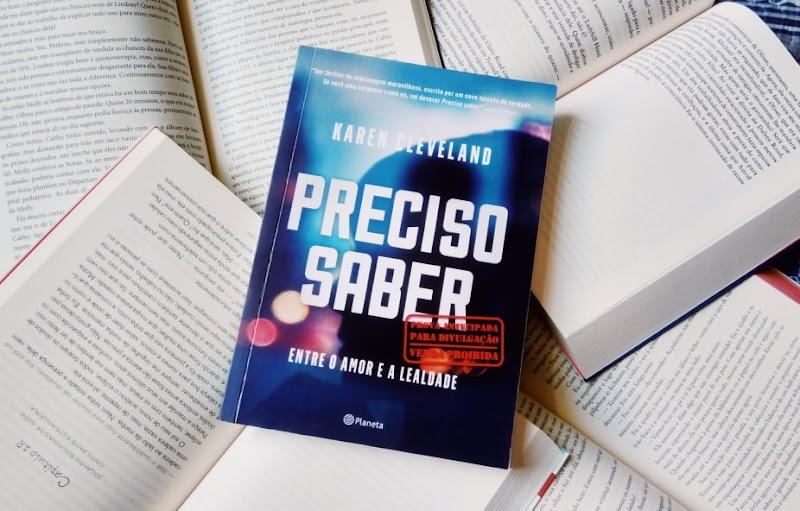 [RESENHA #582] PRECISO SABER - KAREN CLEVELAND