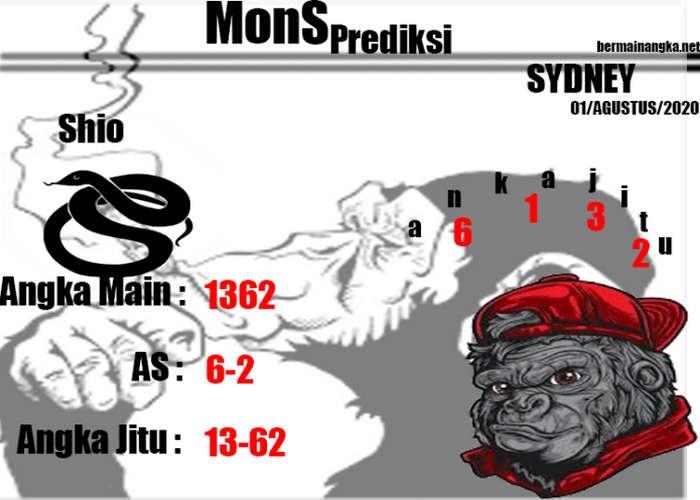 Kode syair Sydney Minggu 2 Agustus 2020 212