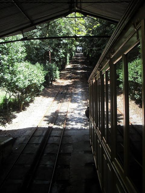 funicular hidráulico en Braga Portugal