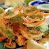 Receita de Tempurá de legumes crocante