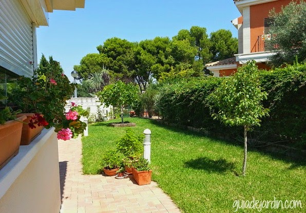 jardín de clima mediterráneo