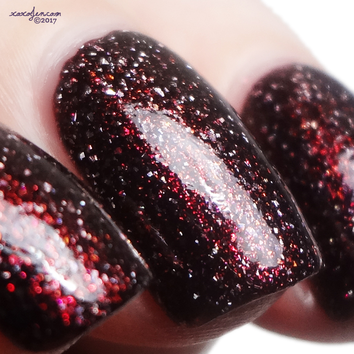 xoxoJen's swatch of KBShimmer Pour Decisions