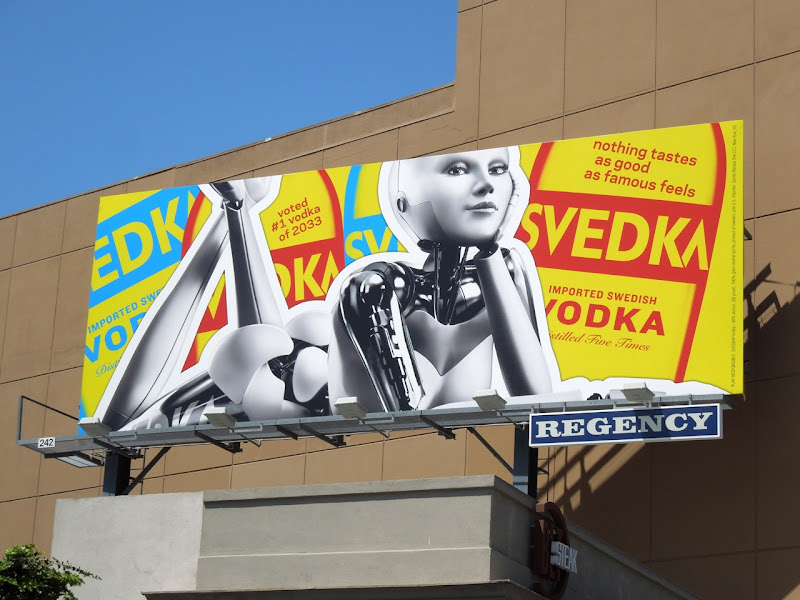 Svedka vodka famous feels billboard