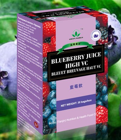 Health Review: Green World Blueberry Juice (High Vc ...