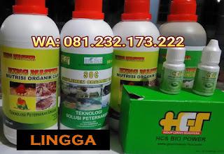 Jual SOC HCS, KINGMASTER, BIOPOWER Siap Kirim Lingga Daik Lingga