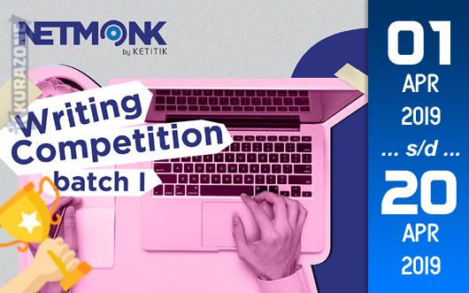 Kompetisi Blog - NetMonk Berhadiah Uang Tunai dan e-Sertifikat (20 April 2019)