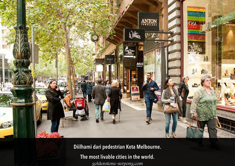 ilham Ruko Melbourne Street