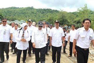Menteri PUPR:  Jembatan dan Sungai Rusak Segera Ditangani
